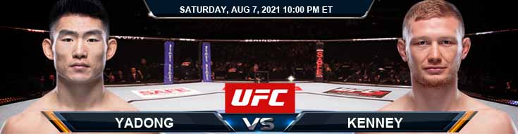 UFC 265 Yadong vs Kenney 08-07-2021 Picks Predictions and Previews
