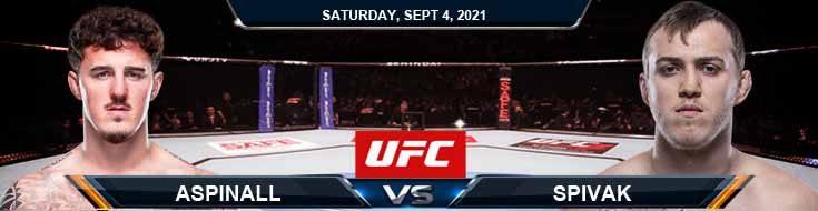 UFC Fight Night 191 Aspinall vs Spivak 09-04-2021 Fight Analysis Forecast and Tips