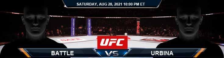 UFC Fight Night 30 Battle vs Urbina 08-28-2021 Predictions Previews and Spread