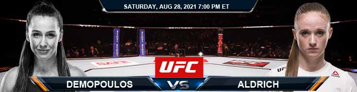 UFC Fight Night 30 Demopoulos vs Aldrich 08-28-2021 Picks Predictions and Previews