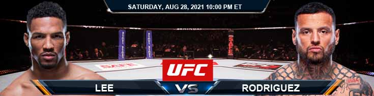 UFC Fight Night 30 Lee vs Rodriguez 08-28-2021 Spread Fight Analysis and Forecast