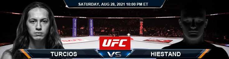 UFC Fight Night 30 Turcios vs Hiestand 08-28-2021 Previews Spread and Fight Analysis