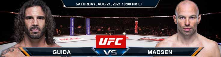 UFC ON ESPN 29 Guida vs Madsen 08-21-2021 Picks Predictions and Previews