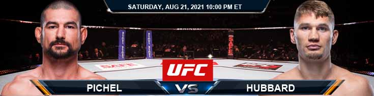 UFC ON ESPN 29 Pichel vs Hubbard 08-21-2021 Spread Fight Analysis and Forecast