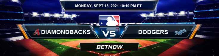 Arizona Diamondbacks vs Los Angeles Dodgers 09-13-2021 Baseball Preview Spread and Game Analysis