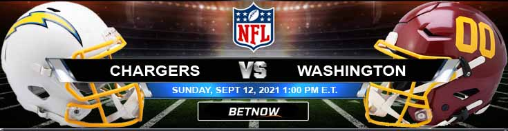 Best BetNow Pick for the Los Angeles Chargers vs Washington Football Team 09-12-2021 Game