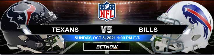 BetNow's Best Wagering Preview for Houston Texans vs Buffalo Bills 10-03-2021