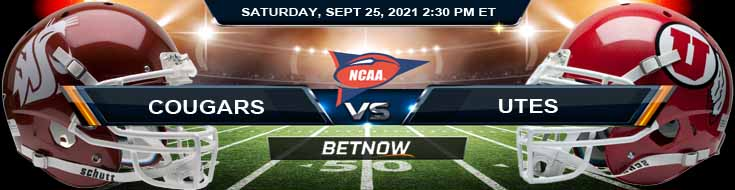 BetNow's Favorite Predictions for the Battle Between Washington State and Utah 09-25-2021