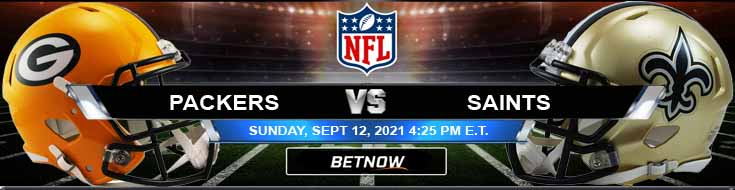 BetNow's Top Football Betting Preview for Green Bay Packers vs New Orleans Saints 09-12-2021