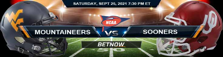 BetNow's Top Preview for the West Virginia and Oklahoma 09-25-2021 Game
