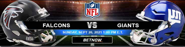 Betting Football Analysis on the Game Between Falcons and Giants 09-26-2021