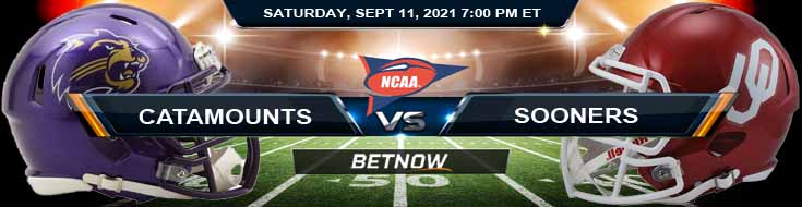 Betting Previews Between Western Carolina Catamounts vs Oklahoma Sooners 09-11-2021 for NCAAF 2021