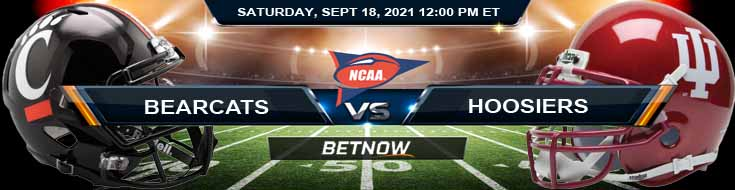 Cincinnati Bearcats vs Indiana Hoosiers 09-18-2021 Odds Predictions and Game Analysis