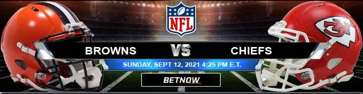 Cleveland Browns vs Kansas City Chiefs 09-12-2021 Battle at Arrowhead Stadium