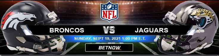 Favorite Betting Prediction on the Battle Between Denver Broncos vs Jacksonville Jaguars 09-19-2021 for Week 2