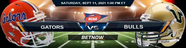 Florida Gators vs USF Bulls 09-11-2021 Game Picks for NCAAF 2021