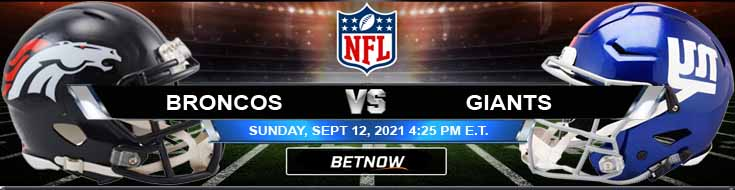 Game Analysis for the Denver and New York 09-12-2021 Match at MetLife Stadium