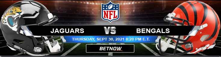 Jacksonville Jaguars vs Cincinnati Bengals 09-30-2021 Football Betting Picks and Predictions