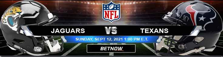 Jacksonville Jaguars vs Houston Texans 09-12-2021 Odds Picks and Predictions