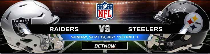 Las Vegas Raiders vs Pittsburgh Steelers 09-19-2021 NFL Tips and Forecast