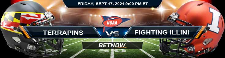 Maryland Terrapins vs Illinois Fighting Illini 09-17-2021 Picks Predictions and Football Betting