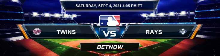 Minnesota Twins vs Tampa Bay Rays 09-04-2021 Baseball Tips Forecast and Analysis