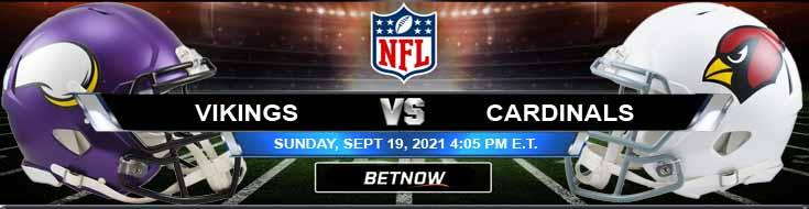Minnesota Vikings vs Arizona Cardinals 09-19-2021 Odds Tips and Forecast