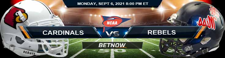 Monday's Betting Analysis for the Louisville Cardinals vs Ole Miss Rebels 09-06-2021 Game