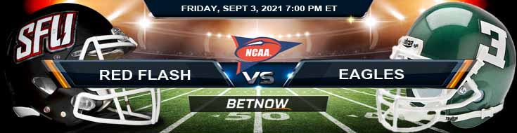 NCAAF 2021's Betting Tips for the Game Between St. Francis-PA and Eastern Michigan 09-03-2021 at Rynearson Stadium