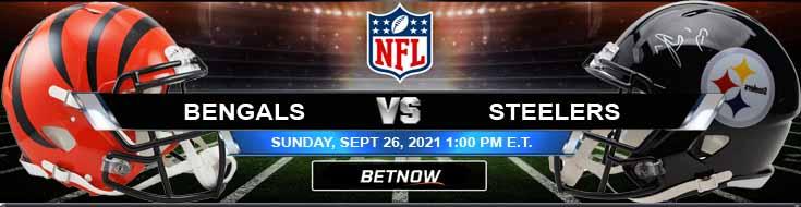 NFL 2021's Best Gambling Odds on Cincinnati Bengals vs Pittsburgh Steelers 09-26-2021