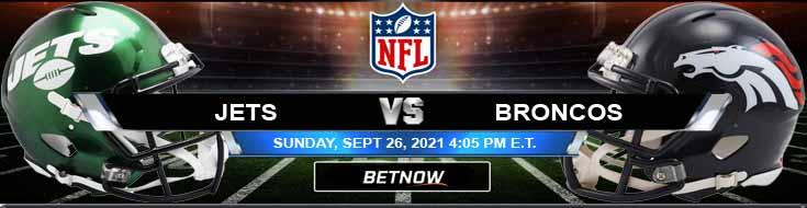 New York Jets vs Denver Broncos 09-26-2021 NFL Previews and Predictions