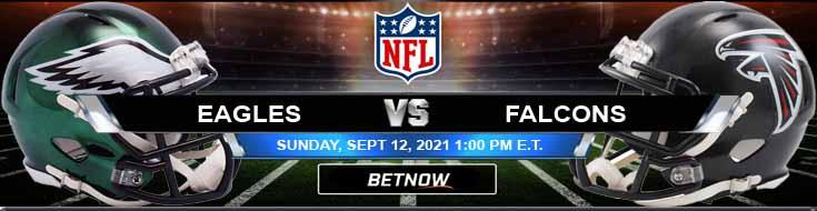 Philadelphia Eagles vs Atlanta Falcons 09-12-2021 Odds Picks and Predictions