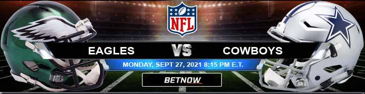 Philadelphia Eagles vs Dallas Cowboys 09-27-2021 NFL Odds and Picks