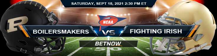 Purdue Boilermakers vs Notre Dame Fighting Irish 09-18-2021 Game Preview at Notre Dame Stadium