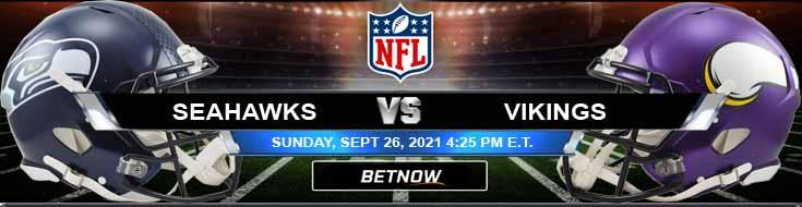 Seattle Seahawks vs Minnesota Vikings 09-26-2021 Odds Picks and Analysis