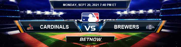 St. Louis Cardinals vs Milwaukee Brewers 09-20-2021 Analysis Baseball Tips and Forecast