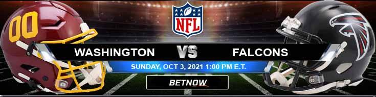 Sunday's Betting Predictions for the Showdown Between Washington and Atlanta 10-03-2021