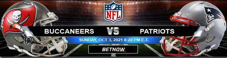 Tampa Bay Buccaneers vs New England Patriots 10-03-2021 Predictions Football Betting and Previews