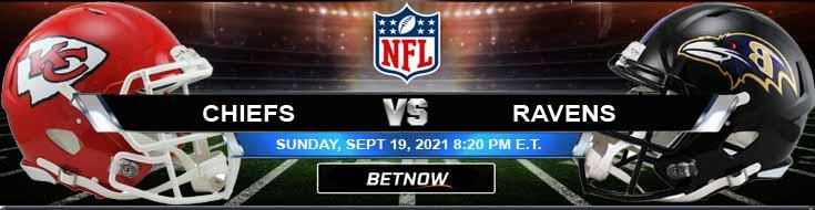 Top Gambling Forecast for the Kansas City Chiefs vs Baltimore Ravens 09-19-2021 Game