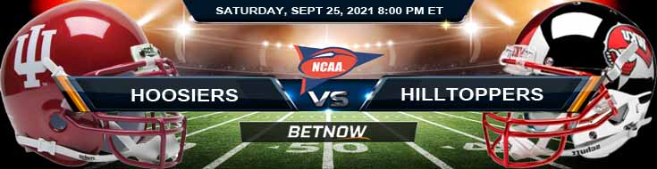 Top Predictions for Saturday Night's Indiana Hoosiers vs WKU Hilltoppers 09-25-2021 Game