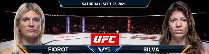 UFC 266 Fiorot vs Silva 09-25-2021 Analysis Fight Forecast and Tips