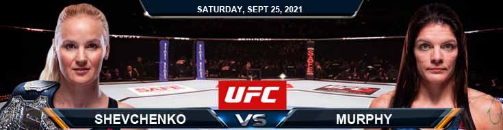 UFC 266 Shevchenko vs Murphy 09-25-2021 Picks Predictions and Previews