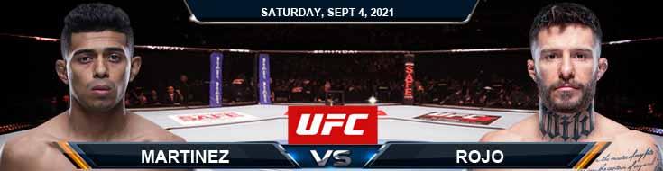 UFC Fight Night 191 Martinez vs Rojo 09-04-2021 Spread Fight Analysis and Odds