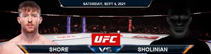 UFC Fight Night 191 Shore vs Sholinian 09-04-2021 Picks Predictions and Previews
