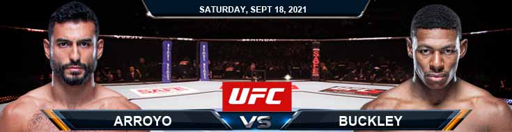 UFC Fight Night 192 Arroyo vs Buckley 09-18-2021 Spread Fight Analysis and Forecast