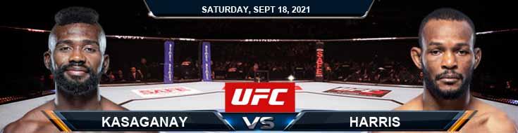 UFC Fight Night 192 Kasaganay vs Harris 9-18-2021 Picks Previews and Fight Analysis