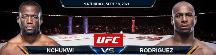 UFC Fight Night 192 Nchukwi vs Rodriguez 09-18-2021 Forecast Tips and Analysis