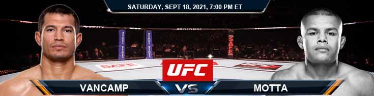 UFC Fight Night 192 VanCamp vs Motta 09-18-2021 Picks Predictions and Previews