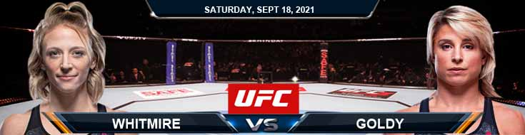 UFC Fight Night 192 Whitmire vs Goldy 9-18-2021 Picks Forecast and Analysis