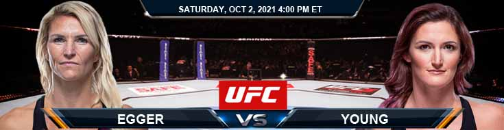 UFC Fight Night 193 Egger vs Young 10-02-2021 Predictions Match Preview and Spread